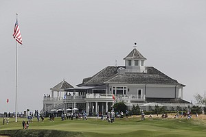 Sebonack Golf Club during the 2013 U.S. Women's Open in Southampton, N.Y.