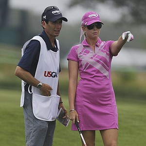 Paula Creamer during the second round of the 2013 U.S. Women's Open at Sebonack in Southampton, N.Y.