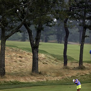 Gerina Piller during the second round of the 2013 U.S. Women's Open at Sebonack in Southampton, N.Y.