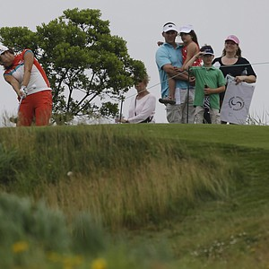 Hee Young Park during the second round of the 2013 U.S. Women's Open at Sebonack in Southampton, N.Y.