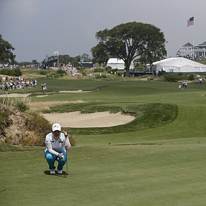 Inbee Park during the second round of the 2013 U.S. Women's Open at Sebonack in Southampton, N.Y.