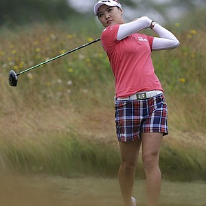 So Yeon Ryu during the second round of the 2013 U.S. Women's Open at Sebonack in Southampton, N.Y.