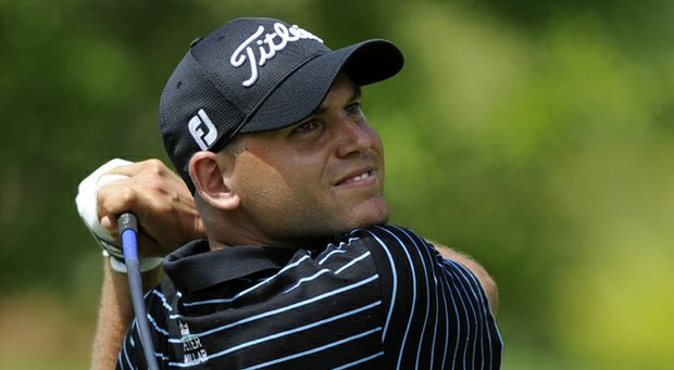 Bill Haas during the third round of the 2013 AT&T National at Congressional.