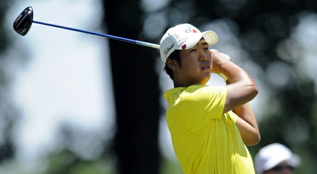 D.H. Lee during the third round of the 2013 AT&T National at Congressional.