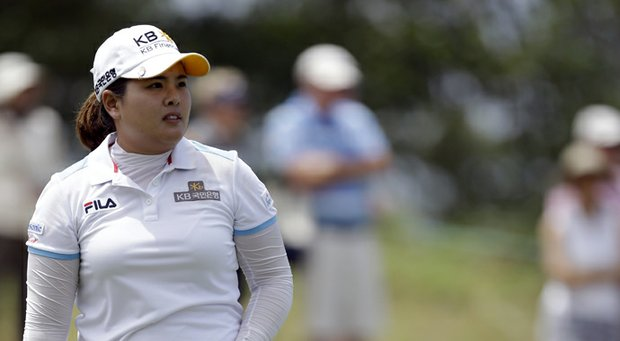 Inbee Park during the second round of the 2013 U.S. Women's Open at Sebonack.