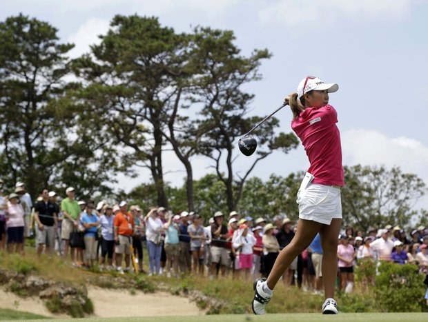 I.K. Kim during the third round of the 2013 U.S. Open at Sebonack in Southampton, N.Y.