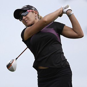 Natalie Gulbis during the third round of the 2013 U.S. Open at Sebonack in Southampton, N.Y.