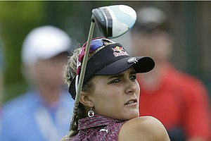 Lexi Thompson during the third round of the 2013 U.S. Open at Sebonack in Southampton, N.Y.