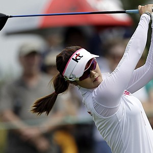 Ha-Neul Kim during the third round of the 2013 U.S. Women's Open at Sebonack in Southampton, N.Y.