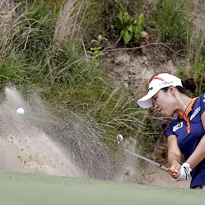 Haeji Kang during the third round of the 2013 U.S. Women's Open at Sebonack in Southampton, N.Y.