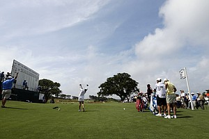 Mi Jung Hur during the third round of the 2013 U.S. Women's Open at Sebonack in Southampton, N.Y.