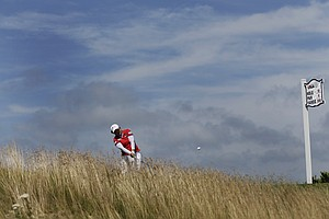 Inbee Park during the third round of the 2013 U.S. Women's Open at Sebonack in Southampton, N.Y.