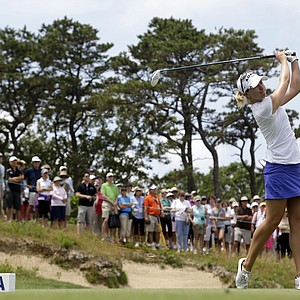 Jodi Ewart Shadoff during the third round of the 2013 U.S. Women's Open at Sebonack in Southampton, N.Y.