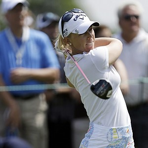 Brooke Mackenzie Henderson during the third round of the 2013 U.S. Women's Open at Sebonack in Southampton, N.Y.