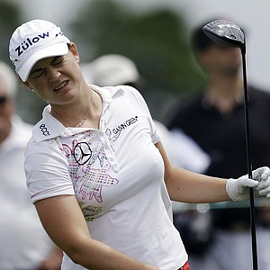 Caroline Masson during the third round of the 2013 U.S. Women's Open at Sebonack in Southampton, N.Y.