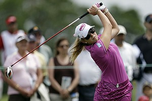 Paula Creamer during the third round of the 2013 U.S. Women's Open at Sebonack in Southampton, N.Y.