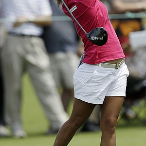 I.K. Kim during the third round of the 2013 U.S. Women's Open at Sebonack in Southampton, N.Y.