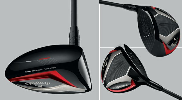 Callaway officials say the new Optiforce drivers have more adjustability than any previous Callaway driver. They also are the lightest, modern-sized titanium drivers ever produced by the company.