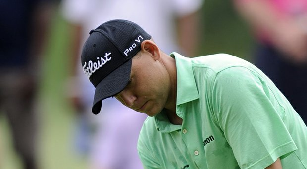 Bill Haas during the final round of the 2013 AT&T National at Congressional.