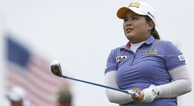 Inbee Park during the final round of the 2013 U.S. Women's Open at Sebonack in Southampton, N.Y.