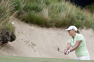 Cristie Kerr during the final round of the 2013 U.S. Women's Open at Sebonack in Southampton, N.Y.