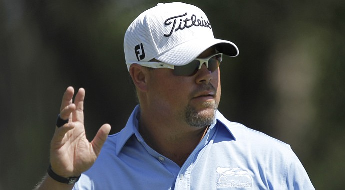 Kris Blanks during the PGA Tour's 2012 Transitions Championship.
