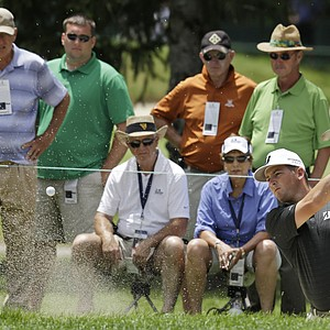 Matt Every during the third round of the PGA Tour's 2013 Greenbrier Classic.