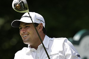 Johnson Wagner during the third round of the PGA Tour's 2013 Greenbrier Classic.