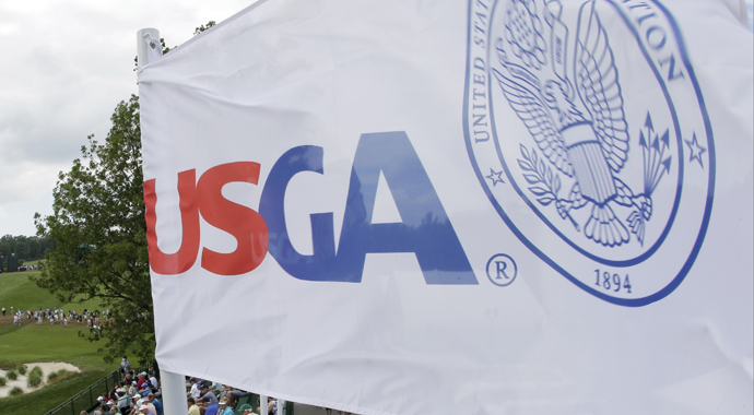 Smartphones once again are front and center in golf, thanks to an announcement Thursday by the U.S. Golf Association that distance-measuring devices will be allowed in all USGA amateur championships.