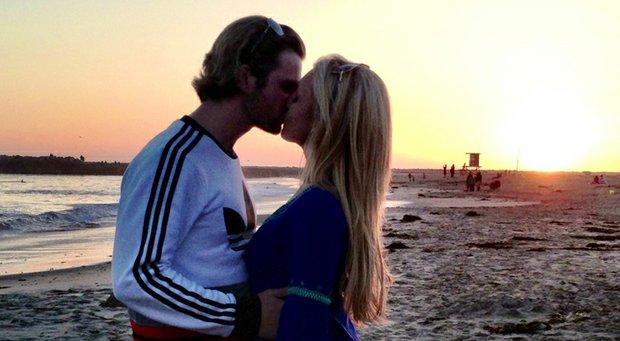 LPGA star Natalie Gulbis is engaged to Josh Rodarmel, a former Yale quarterback, co-founder of Power Balance bracelets and 1-handicap.