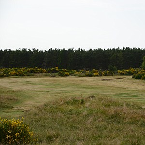 A look from the 10th hole at Tain Golf Club in Scotland.
