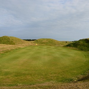 A look at the 11th hole at Tain Golf Club in Scotland.