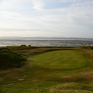 The 11th hole at the Tain Golf Club in Scotland.