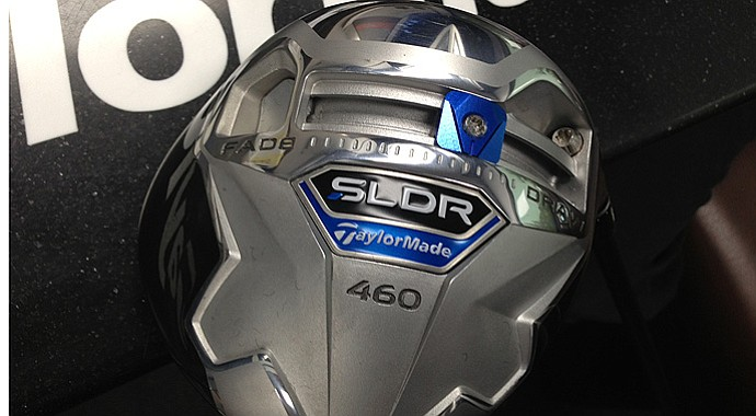 The new TaylorMade SLDR, or Slider, debuted at the 2013 Scottish Open and John Deere Classic.