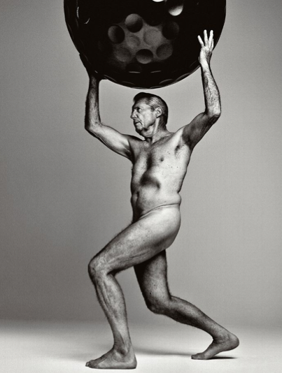 Gary Player, 77, is the one of two golfers to pose nude in this year's Body Issue from ESPN.