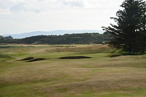 The 10th hole at historic Royal Dornoch in Scotland.