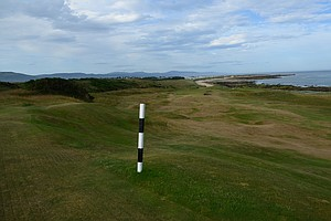 The eighth hole at historic Royal Dornoch in Scotland.