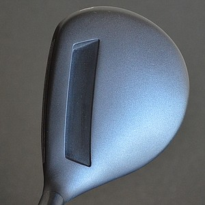 The crown of the Adams Tight Lies has a gray finish. Like the sole, it too has channel designed into it.