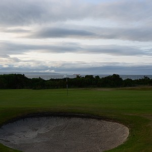 The par-4 9th hole at Nairn.