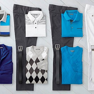 Justin Rose's apparel at the 2013 Open Championship.