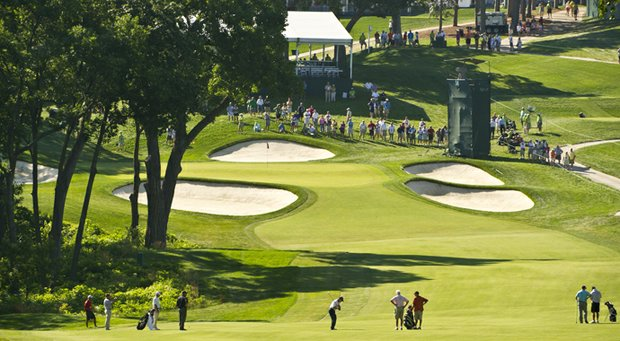 Tom Watson at Omaha Country Club for the 2013 U.S. Senior Open.