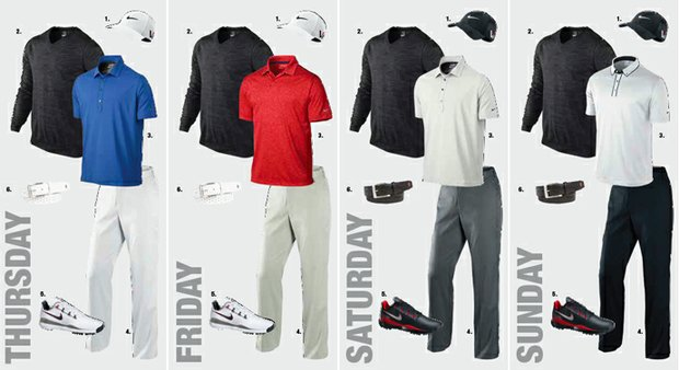 Scott Brown's apparel at the 2013 Open Championship at Muirfield.