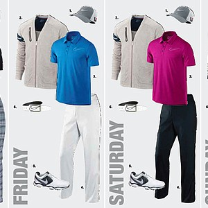 Scott Jamieson's apparel at the 2013 Open Championship at Muirfield.