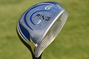 Louis Oosthuizen's 3-wood is a Ping G5 with 15 degrees of loft and a Fujikura Motore Speeder shaft.