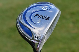 Similarly, Louis Oosthuizen plays a Ping G5 5-wood with 18 degrees of loft and the same Fujikura Motore Speeder shaft.