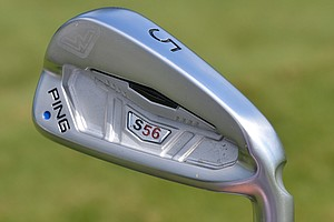 For irons, Louis Oosthuizen goes with Ping S56 (3-9) with True Temper Dynamic Gold Tour Issue X100 shafts.