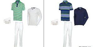 Keegan Bradley's apparel at Open Championship