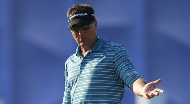 Brandt Jobe during the PGA Tour's 2013 Zurich Classic of New Orleans.