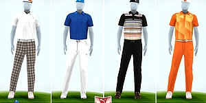 Rickie Fowler's apparel for Open Championship