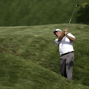 Fred Couples during the second round of the 2013 U.S. Senior Open at Omaha (Neb.) CC.